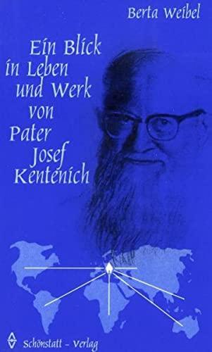 9783920849935: Ein Blick in Leben und Werk von Pater Josef Kentenich