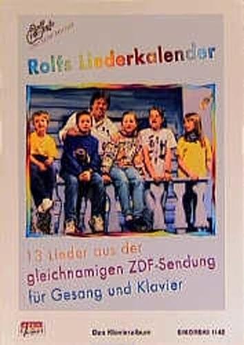 Rolfs Liederkalender, Das Klavieralbum: Zuckowski, Rolf, O'Brien
