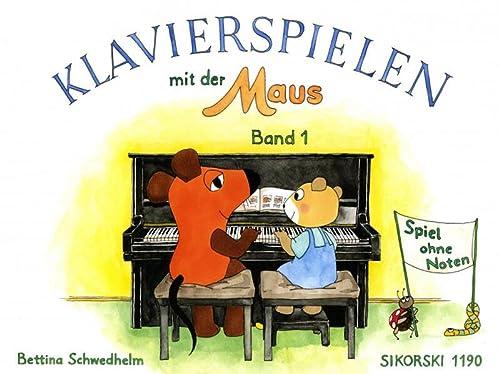 Klavierspielen mit der Maus 1. Spiel ohne