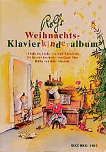 9783920880907: Rolfs Weihnachts-Klavierkinderalbum: 14 beliebte Lieder