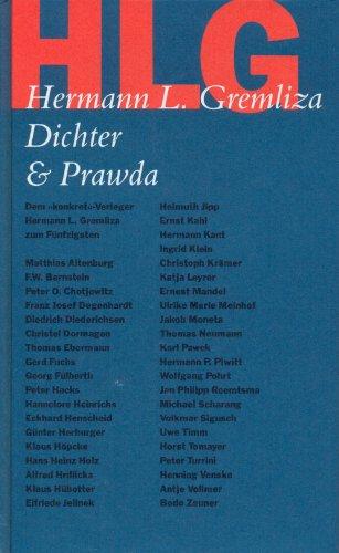"""9783921072004: HLG Dichter & Prawda. Dem """"konkret""""-Verleger Hermann L. Gremliza zum Fünfzigsten;"""