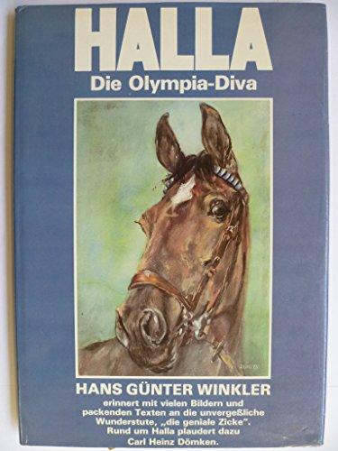 9783921142424: Halla. Die Olympia- Diva
