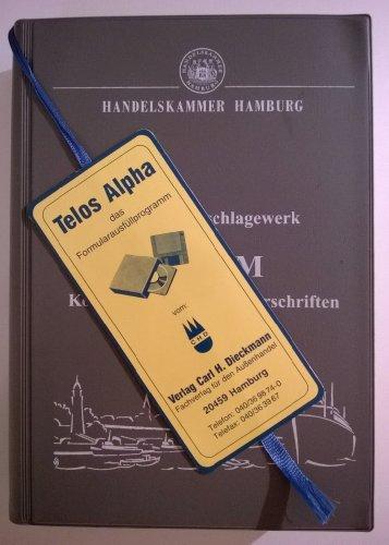 9783921191767: K und M : Konsulats- und Mustervorschriften: Export-Nachschlagewerk (German Edition)