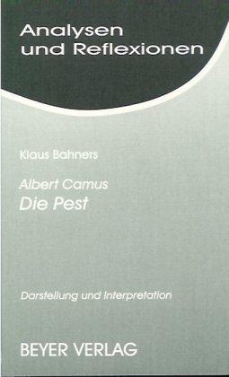 Analysen und Reflexionen, Bd.12, Albert Camus 'Der: Bahners, Klaus