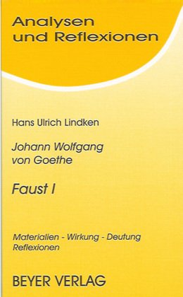 Analysen und Reflexionen, Bd.30, Johann Wolfgang Goethe: Wolfgang von Goethe,