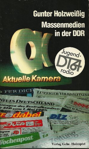 9783921226339: Massenmedien in der DDR (German Edition)