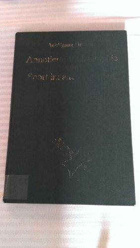 Annotierte Bibliographie zum Sport im alten Ägypten: Decker, Wolfgang