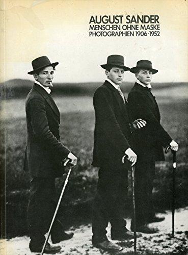 9783921375082: Menschen ohne Maske. Photographien 1906 - 1952