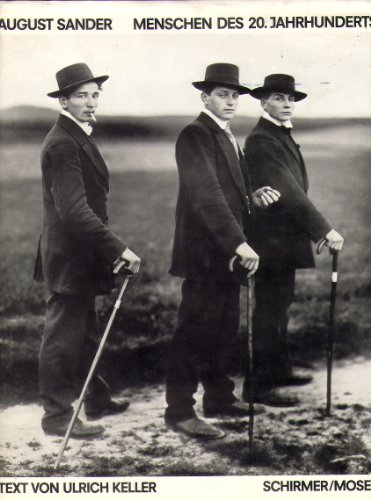 August Sander: Menschen des 20 Jahrhunderts: portraitphotographien 1892-1952: Keller, Von Ulrich