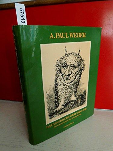 Das graphische Werk 1930 - 1978. Handzeichnungen: Weber, Andreas Paul.