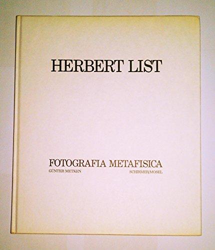Herbert List. Fotografia Metafisica: Metken, Günter