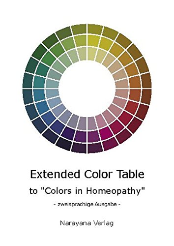 9783921383919: Extended Color Table. To