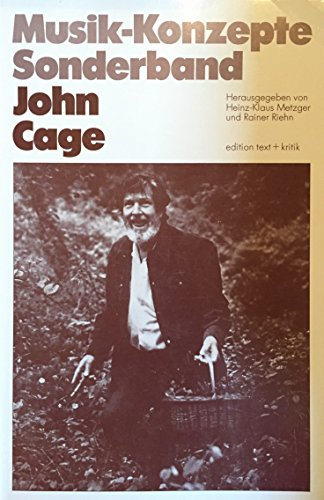 9783921402696: John Cage (Musik-Konzepte. Sonderband)