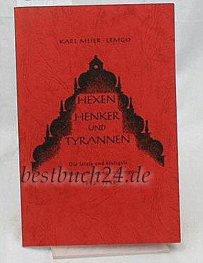 9783921428030: Hexen, Henker und Tyrannen