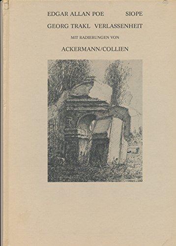 Siope / Verlassenheit: Poe, Edgar Allan;;Trakl,Georg