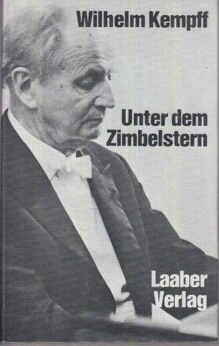 9783921518120: Unter dem Zimbelstern: Jugenderinnerungen e. Pianisten (German Edition)