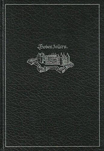 Die Hohenzollern und ihr Werk. Mit e.: Hintze, Otto: