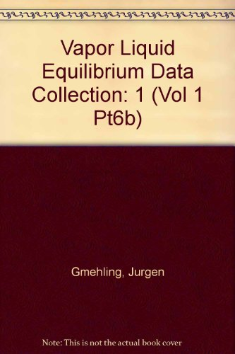 Vapor Liquid Equilibrium Data Collection: Aliphatic Hydrocarbons: Jurgen Gmehling