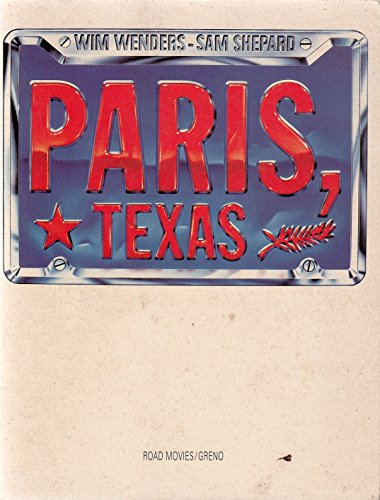 9783921568118: Paris, Texas
