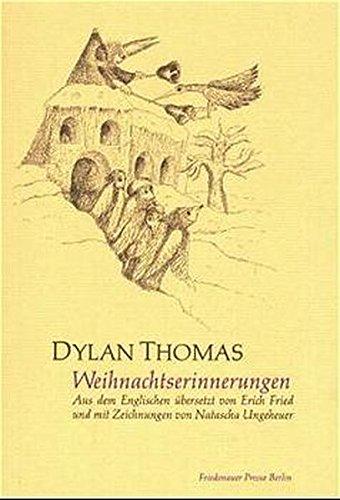 Weihnachtserinnerungen. (9783921592885) by DYLAN. THOMAS