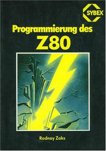 9783921682746: Z80 Assembler Handbuch (German Edition)