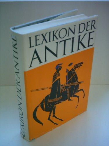 9783921695173: Lexikon der Antike