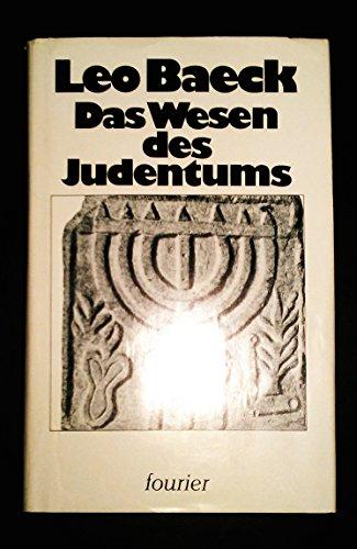 9783921695241: Das Wesen des Judentums