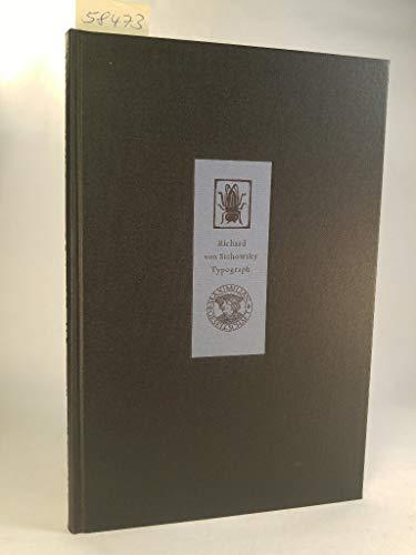 Richard von Sichowsky. Typograph. Hrsg. von B. Hack u. O. Rohse.: Sichowsky, R. v.