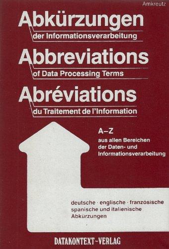 Abkürzungen der Informationsverarbeitung: Johann J. Amkreutz