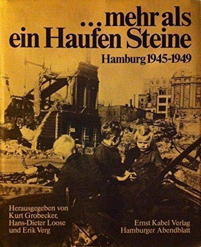 9783921909805: --mehr als ein Haufen Steine: Hamburg 1945-1949 (German Edition)