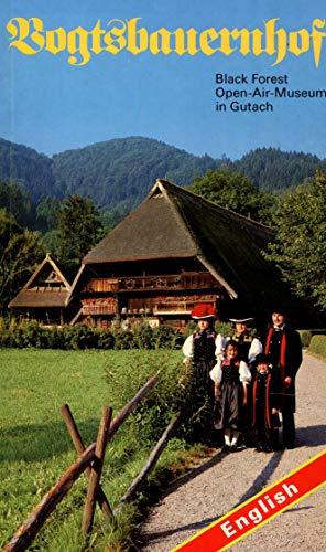 9783921934449: Vogtsbauernhof. Black Forest. Open-Air-Museum in Gutach