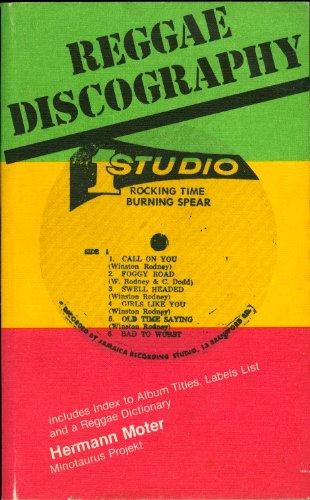 9783921982310: Reggae discography (Minotaurus Projekt)
