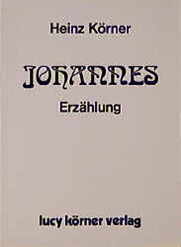 9783922028000: Johannes: Erzählung (German Edition)