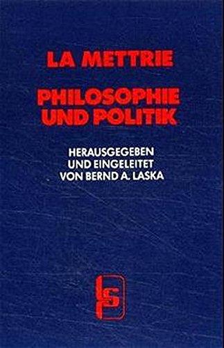 9783922058298: Philosophie und Politik.
