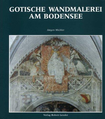 9783922137801: Gotische Wandmalerei am Bodensee (German Edition)