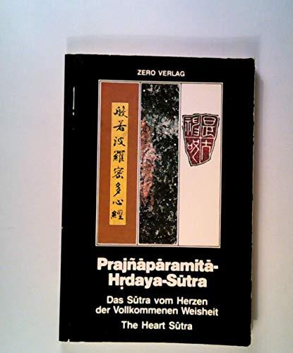 9783922253105: Prajnaparamita-hrdaya-sutra. Das Sutra Vom Herzen Der Vollkommenen Weisheit