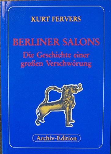 9783922314820: Berliner Salons