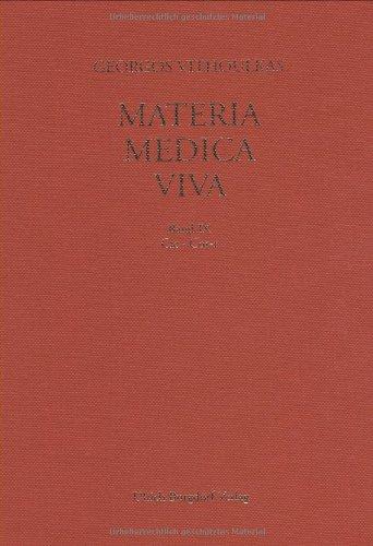 9783922345893: Materia medica viva, Bd. 9., Cicuta virosa - Corallium rubrum