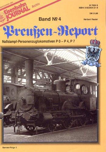 9783922404194: Eisenbahn Journal - Preußen-Report - Band 3