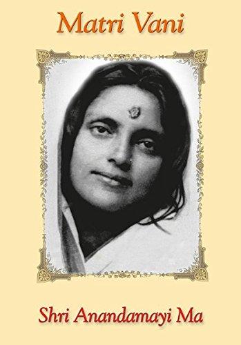 9783922477044: Matri Vani - Bd. 1: Worte von Shri Anandamayi Ma