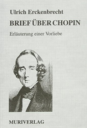 9783922494195: Brief über Chopin