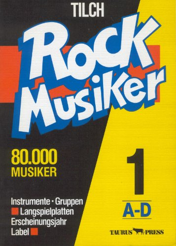 9783922542308: Rock Musiker (German Edition)