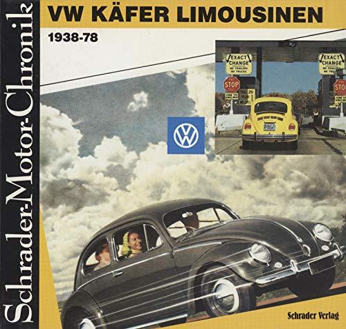 9783922617686: VW Käfer Limousinen 1938-78