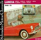 9783922617976: Lancia, 1946-72