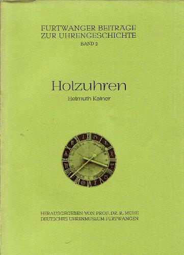 9783922673019: Holzuhren