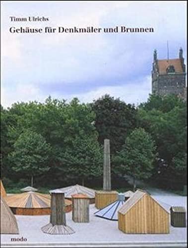 9783922675433: Gehäuse für Denkmäler und Brunnen;