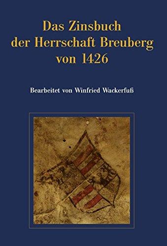 9783922903086: Das Zinsbuch der Herrschaft Breuberg von 1426
