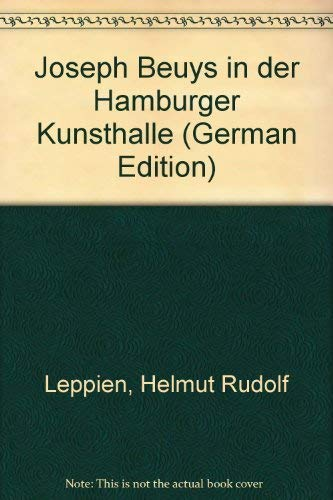 9783922909057: Joseph Beuys in der Hamburger Kunsthalle (German Edition)