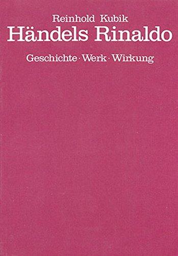 9783923053056: H�ndels Rinaldo - Book