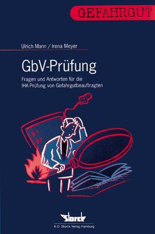 GbV-Prüfung. Fragen und Antworten (Livre en allemand): RA Ulrich Mann